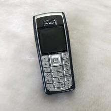 6230i מקורי נוקיה 6230i טלפון 2G GSM סמארטפון ערבית אנגלית רוסית מקלדת & מתנה ושנה אחת אחריות