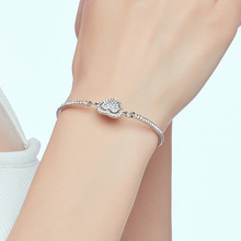 CHENFAN bangles fashion bracelets for woman 2019 bijouterie stainless steel heart jewelery