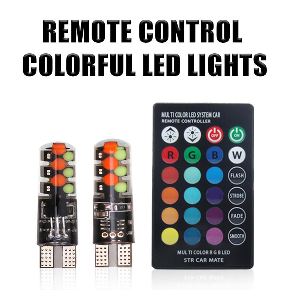 2 шт автомобильные светодиодсветодиодный лампы t10 w5w 12smd