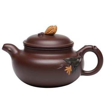 Tetera De cerámica china, tetera De cerámica púrpura, pequeña tetera De cerámica,...