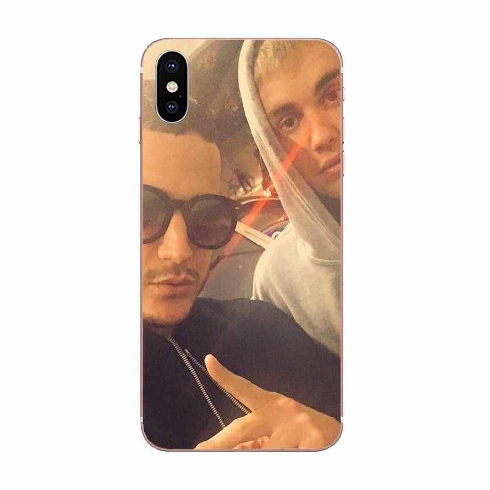 Lembut Fashion Case DJ Avicii Ular untuk Galaxy J1 J2 J3 J330 J4 J5 J6 J7 J730 J8 2015 2016 2017 2018 Mini Pro