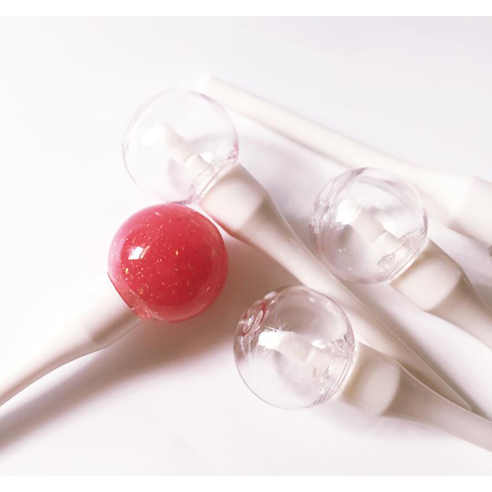 5 Pieces Lollipop Light-Bulb Lip Gloss Tube Refillable Lip Glaze Bottle Empty Makeup DIY Container