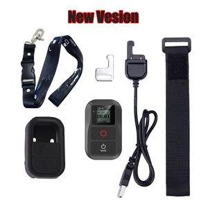 Image 1 - ใหม่สำหรับGoPro 8กันน้ำรีโมทคอนโทรล + ป้องกัน + สายคล้องคอสำหรับGopro Hero 9 8 7 6 5 4 3,sessionอุปกรณ์เสริม