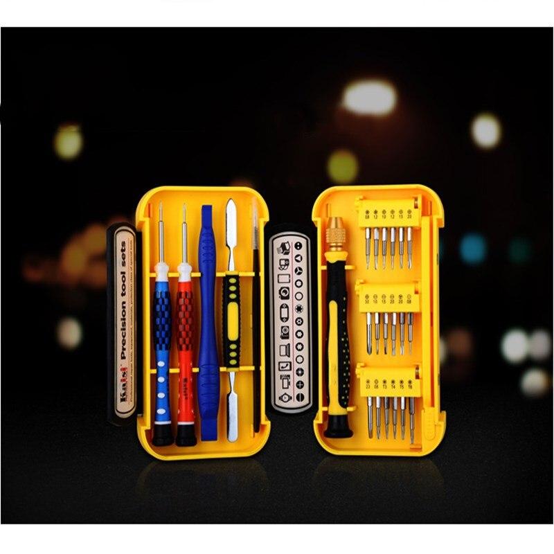 Купить с кэшбэком 24 In One Manual Screwdriver Set Mobile Phone Disassemble Tool Repair Iphone Special Screwdriver