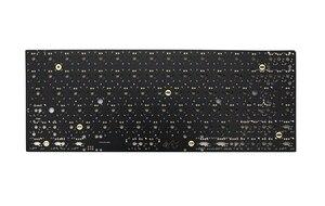Image 4 - Xd84pro XD84 pro مجموعة لوحة المفاتيح الميكانيكية المخصصة 75% يدعم TKG TOOLS دعم underتوهج RGB PCB مبرمجة gh84 kle type c