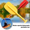 1Pcs Retractable Paddles Lightweight Detachable Kayak Oar Portable Telescoping Rafting Boat Paddle for Water Sports Accessories