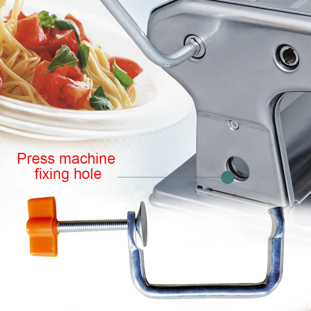 Pasta Machine Holder Metal Noodle Maker for Home Kitchen Handle Handheld Accessories image