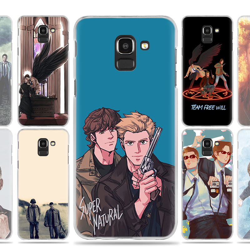 Supernatural TV Movie Case Cover for Samsung Galaxy A50 A80 A70 A60 A40 A30 A20 A20e A10 A9 A7 A6 Note 8 9 10 Plus 2018 5G Shell image