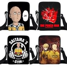 Tote-Bag Crossbody-Bags Punch-Mans Messenger-Bag Woman ONE Saitama Genos Teenager Anime