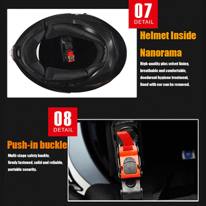Image 4 - NEW GXT 160 Flip Up Motorcycle Helmet Double Lense Full Face Helmet Casco Racing Capacete