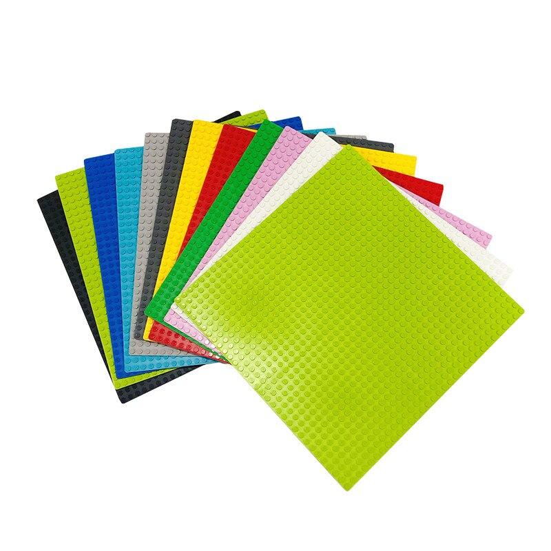 32*32 Dots Classic Plastic Base Plates Blocks Compatible Baseplates Building Bricks Construction Toys For Kids 16*16 Dots