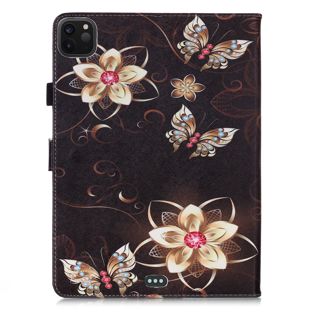For Tablet Owl Coque 11 Funda Cover Flowers Tablet Pro 2020 Case Stand iPad For Wallet
