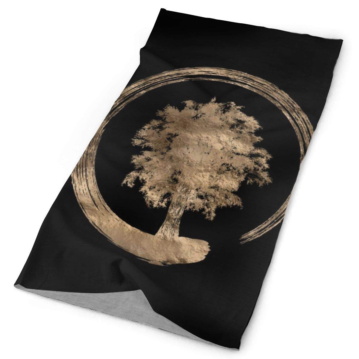 Magic Scarf Headwear Enso Zen Circle And Tree Headbands Bandana Cap Scarf Tube Mask Neck Gaiter Headwrap Balaclava Sun UV