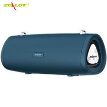 ZEALOT S38 Hifi Portable Speaker Bluetooth Subwoofer Boombox Wireless Speaker+Shoulder Strap Support TWS, TF, USB Flash Drive
