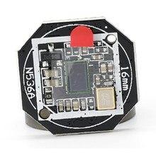 Carte PCB 16mm pour caméra de recul de voiture perforée à huit lampes 18.5