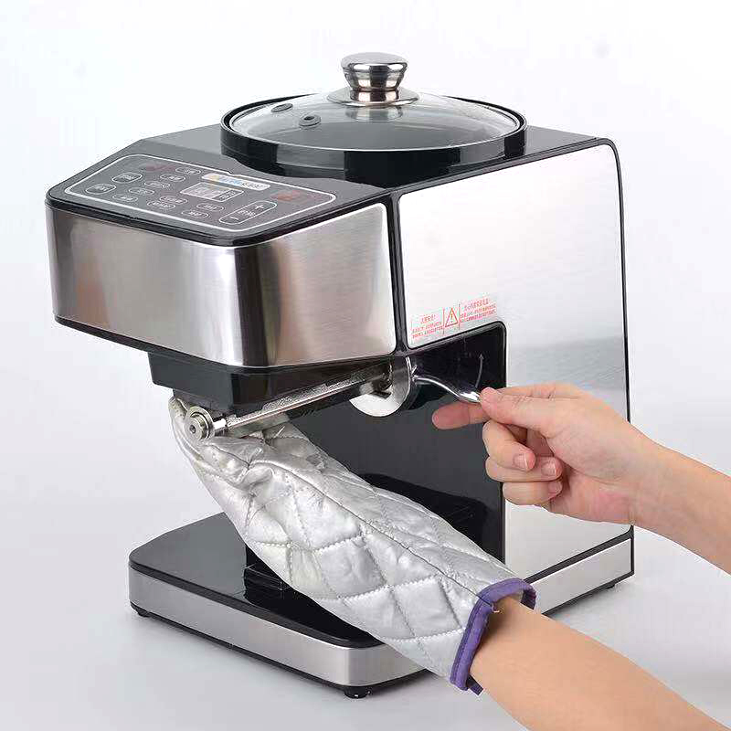 Automatic Oil Presser Machine Household Stainless Steel Cold Hot Press Oil Machine Flaxseed Olive Oil Extractor