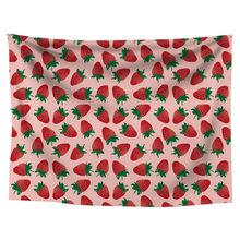 Strawberries Fiesta Pattern Wall Tapestry Cover Beach Towel Throw Blanket Picnic Yoga Mat Home Decoration drop shipping 2020(China)