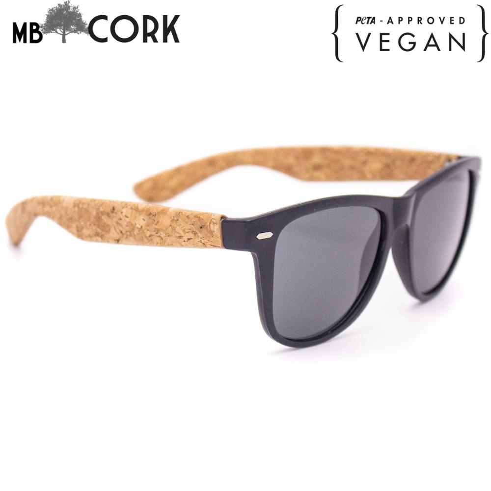 Cork Sunglesses Cork Wooden UV Protection Eyewear L-057