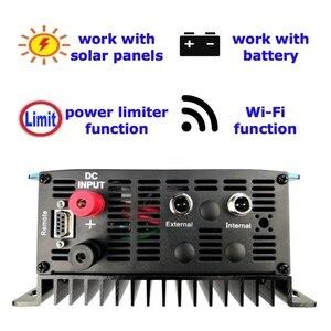 Image 5 - Nieuwe Bijgewerkte 1000W Grid Tie Inverter Met Wifi Plug Mppt Zonne energie 1KW Inverter + Inter Limiter Sensor 24 V 48 V Dc Ac 220V 230V