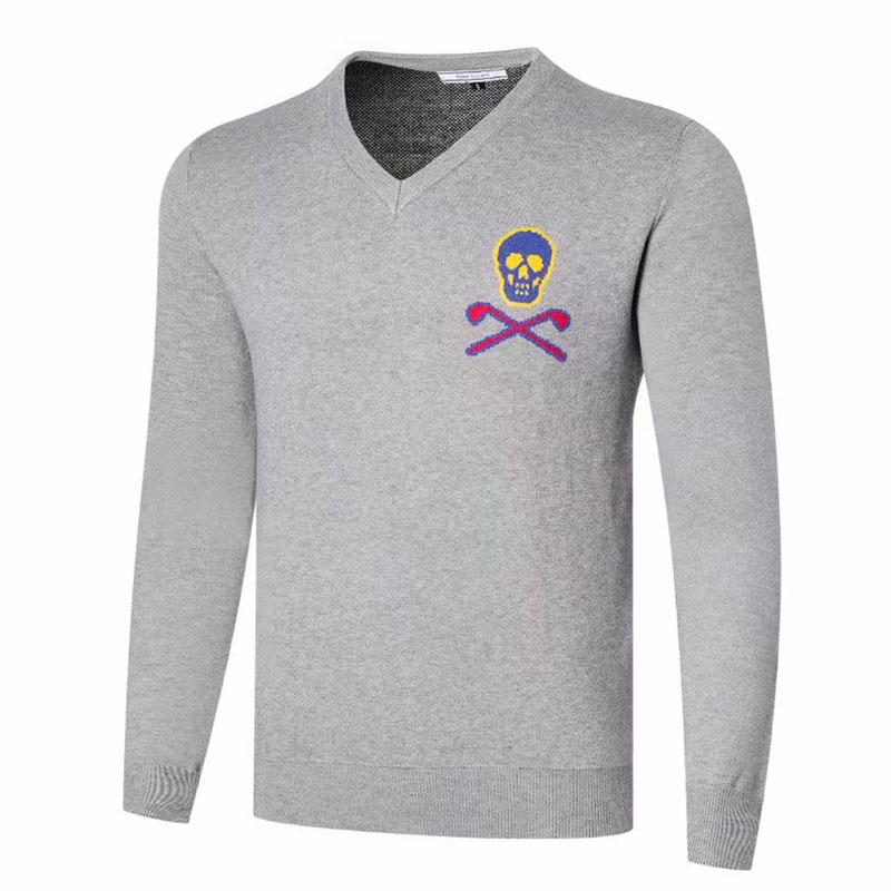 Men Golf Clothing Autumn And Winter MARK LONA Sport Sweater Golf Shirt Full Sleeves Anti-Pilling Leisure Golf Sweater
