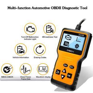 Image 5 - Chegada nova ferramenta de verificação do carro detector v310 scanner diagnóstico universal odb2 verificação do motor scanner obdii