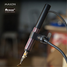 MASON Electric Leather Creaser Hnadle, 4 pin soket,No Heater,Tips Buy Extra,1pcs handle price, RCIDOS supply 7-10 Days ship out