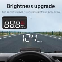 Geyiren M3 Kopf-up-Display HD Display Bildschirm Stecker und Spielen ABS Hud Head-up Display Projektor für auto Zubehör