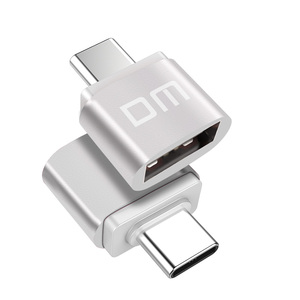Image 3 - DM  USB C Adapter Type C to USB 2.0 Adapter Thunderbolt 3 Type C Adapter OTG Cable For Macbook pro Air Samsung S10 S9 USB OTG