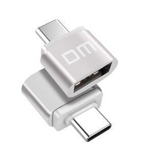 Image 3 - Адаптер DM USB C Type C к USB 2,0, адаптер Thunderbolt 3 Type C, OTG кабель для Macbook pro Air Samsung S10 S9 USB OTG