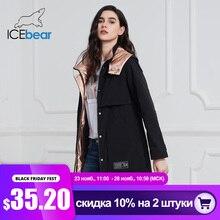 ICEbear 2020 חדש נשים מעיל ארוך נשים מעיל באיכות נשים parka אופנה מזדמן נשים בגדי מותג נשים בגדי GWC20727I