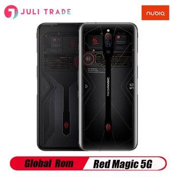 Перейти на Алиэкспресс и купить Смартфон Nubia Red Magic 5G игровой, 12 ГБ, 16 ГБ ОЗУ, 256 Гб ПЗУ, Snapdragon 865, 144 Гц, 64 мп, 4500 мАч, 55 Вт, быстрая зарядка