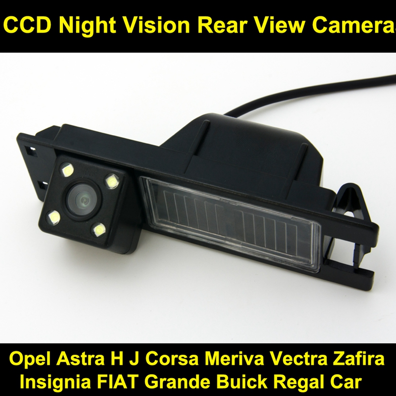 Car Reversing Rear View Camera For Opel Astra H J Corsa Meriva Vectra Zafira Insignia Fiat Grande B Uick Regal