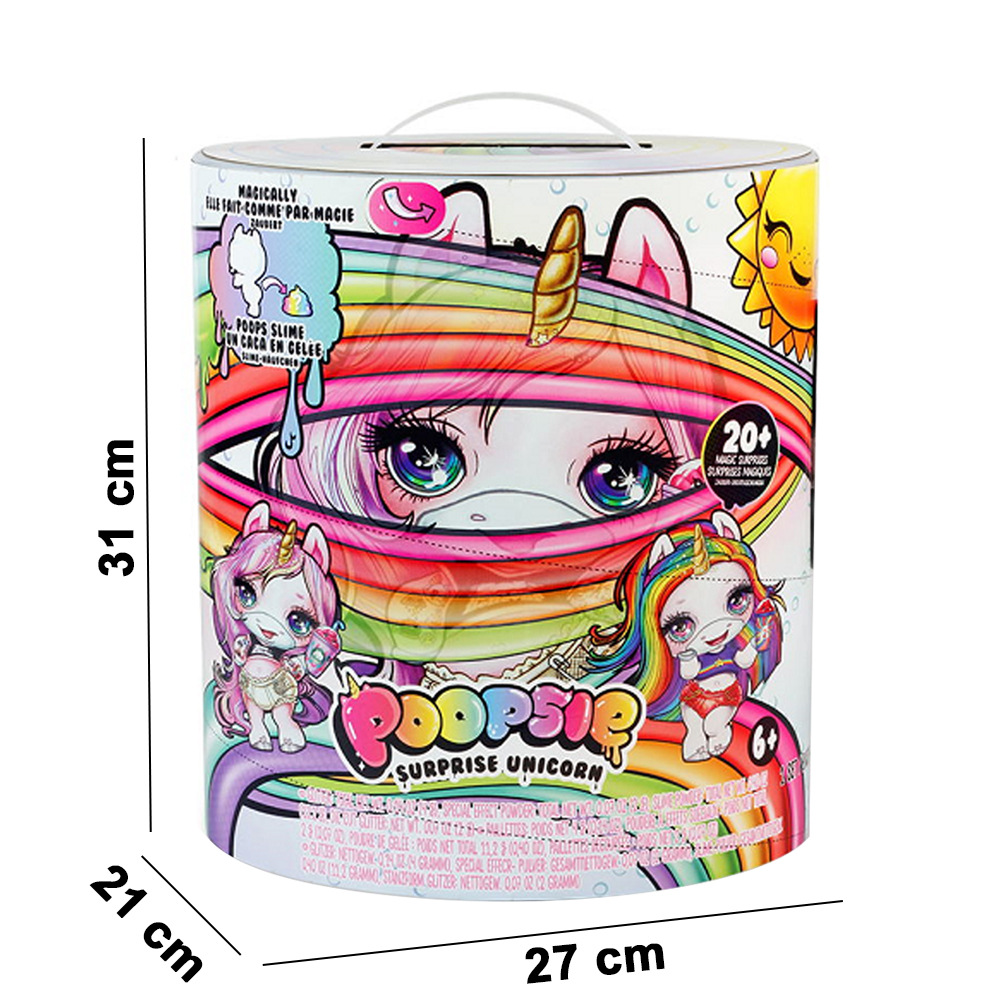 Grande taille Poopsie Slime Licorne 31cm Poopsie Slime Surprise Licorne Squishy soulager le Stress jouet - 2