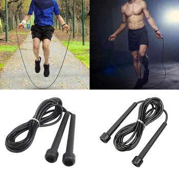 Small Handle Bodybuilding Exercise Fitness Sport Lose Weight Jump Skipping Rope Jump Skipping Rope Jump Skipping Rope Jump Skipp image