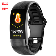 P11 Smartwatch 2020 HRV Herzfrequenz EKG Blutdruck Smart Armband Fitness Tracker Armband Sport Uhr für IOS xiaomi huawei