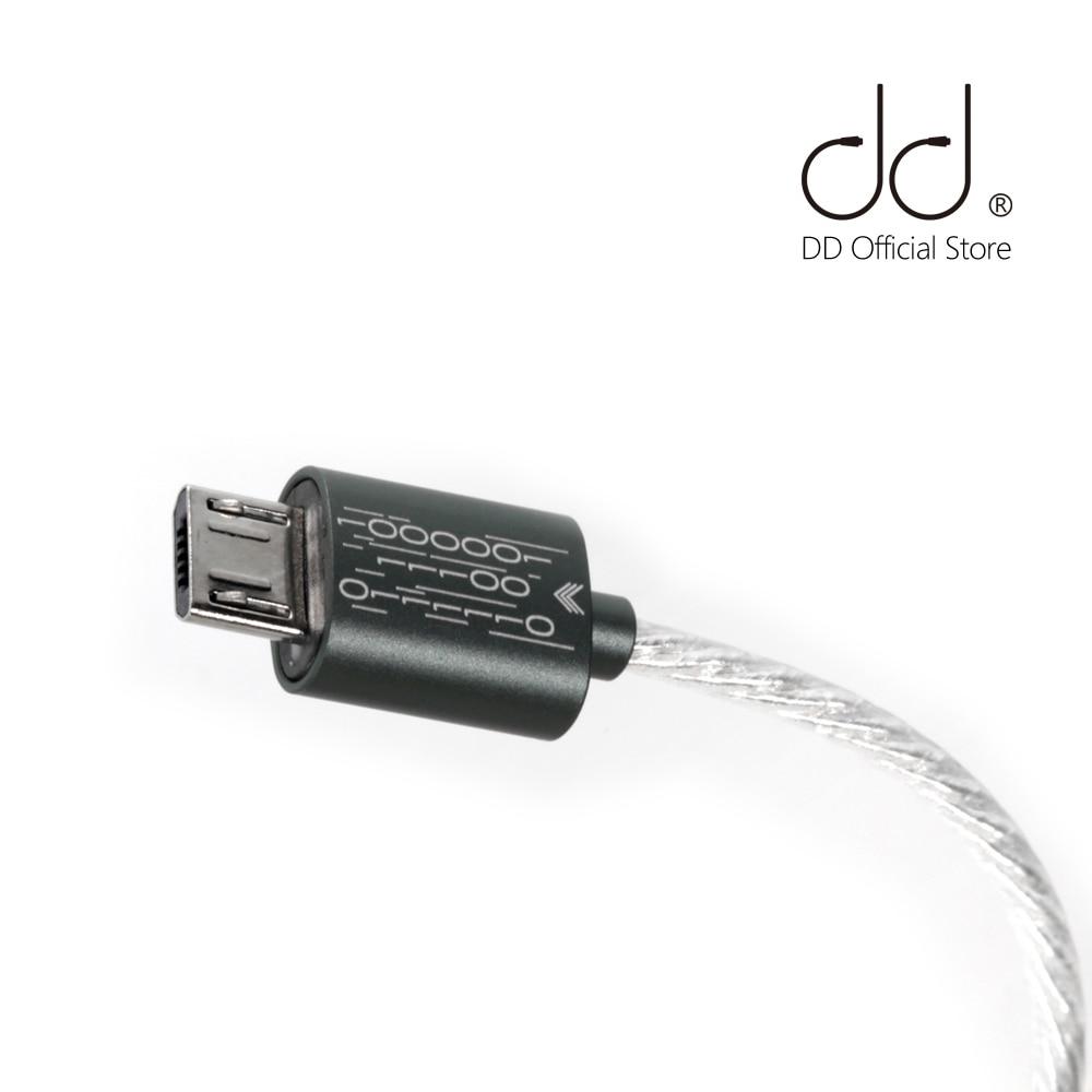 DD ddHiFi cavo dati TC03 da tipo C a Micro USB aggiornato per collegare il tuo Smartphone/Computer con Micro DAC/DAP/amplificatore