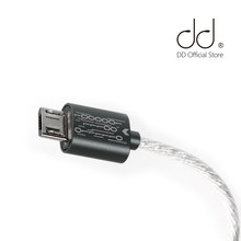 Dd ddhifi totalmente novo atualizado tc03 tipo-c para micro cabo de dados usb para conectar seu smartphone/computador com micro dac/dap/amplificador