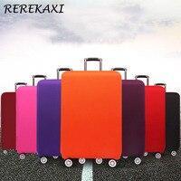 Koffer Verdicken Elastische Fall Abdeckung Gepäck Einfarbig Schutzhülle 18-32 Zoll Trolley Gepäck Abdeckungen Reise Zubehör