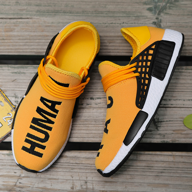 Fashion Flyknit Couples Sneakers Zapatos De Hombre Breathable Air Mesh Men Casual Running Shoes Sneakers Men Plus Size 35-47