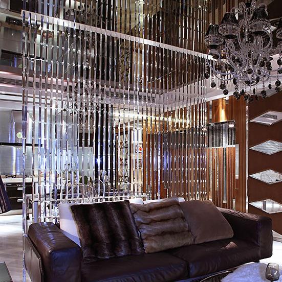 Cristal rideau de luxe mariage toile de fond décoration fournitures chaîne porte rideau fenêtre chambre diviseur décoration de la maison cortinas - 5