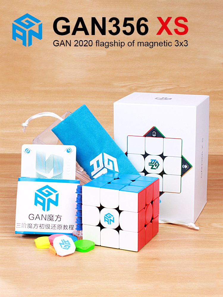 GAN Cube Puzzle Magnets Magic-Speed Gan-356 Gan356-X-S Professional XS