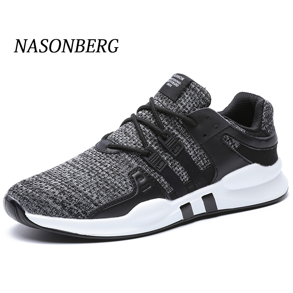 NASONBERG Breathable Men Casual Shoes Anti-Odor Height Increasing Shoes Men Hard Wearing Sneakers Sweat Absorbant Men Shoes
