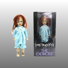 цена на Exorcist Living Dead Bride of Chucky PVC Action Figure Tiffany Doll Child's Play Toys Halloween Toys Dolls Gifts 25cm