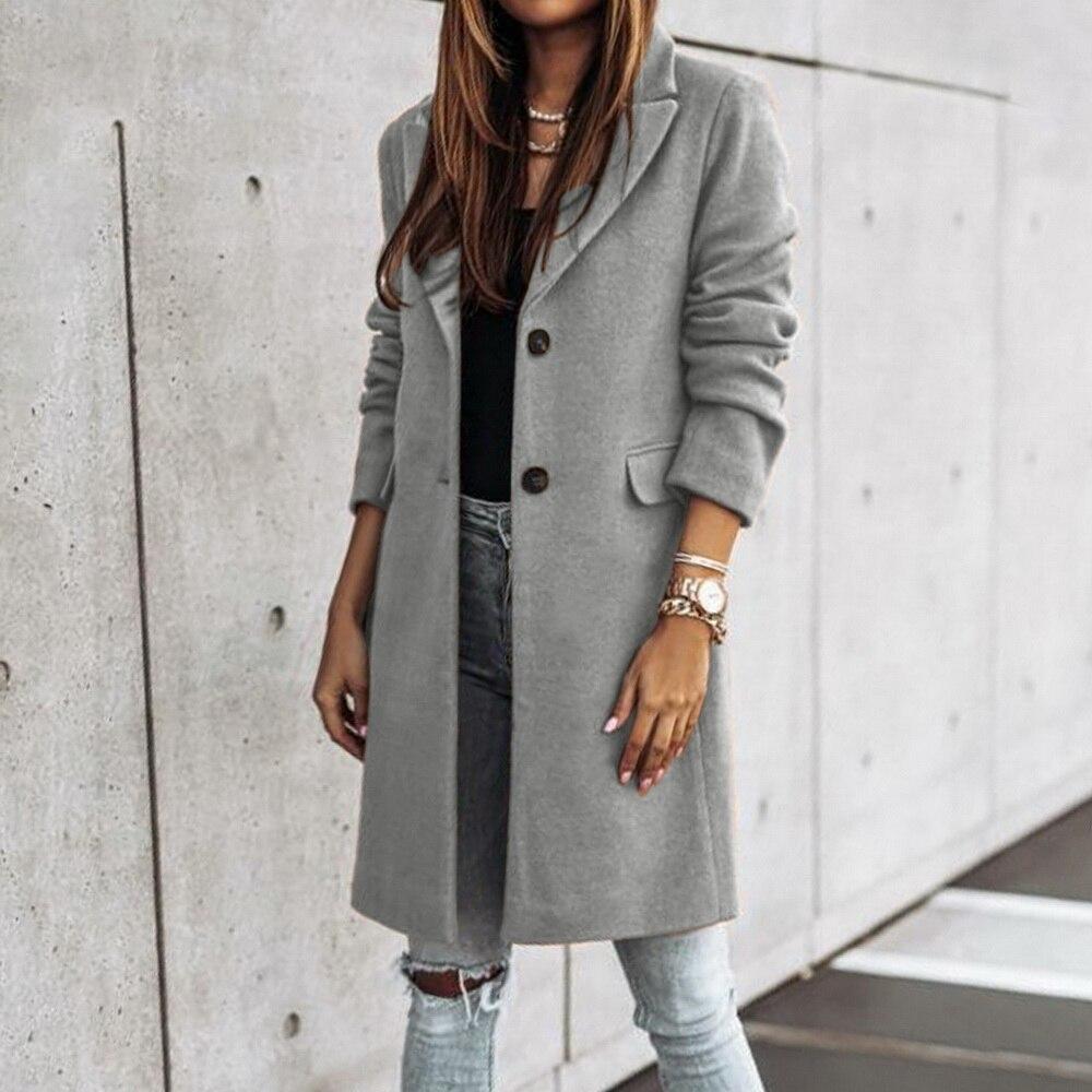 Women Classic Plush Thicken Faux Fur Warm Coat Winter Fashion Outdoor Streetwear Femme Turn-down Collar Solid Pockets Coat D30