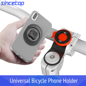 Image 1 - Mountain Bike Bicycle Mobile Phone Sticker Mount Phone Holder Riding Strong Adhesive Support Stand Paste Adapter Clip for iPhone