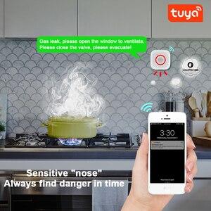 Image 3 - Tuya WiFi GAS LPG Leak detector alarm Security APP Control Safety smart home Leakage sensor