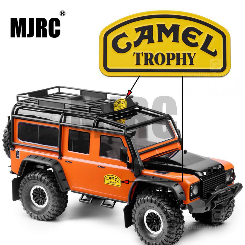 MJRC 1/10 Metal Sticker Camel Trophy Badge LOGO For 1/10 RC Crawler Car Defender Traxxas TRX4 RC4WD D90 D110