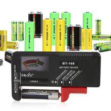 1 шт. Многофункциональный практичный тестер батареи цифровой дисплей измерение заряда батареи детектор напряжения