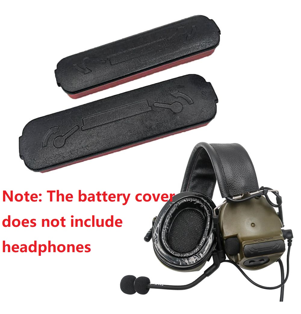 Suitable For Pickup Noise Reduction COMTAC III Tactical Headset Battery Cover, Airsoft C3 Tactical Headset Accessories