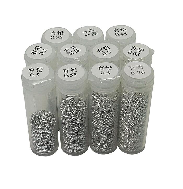 1 Bottles PMTC BGA Solder Ball 25K 0.2mm 0.25mm 0.3mm 0.35mm 0.4mm 0.45mm 0.5mm 0.55mm 0.6mm 0.65mm 0.76mm Leaded Tin Solder Bal